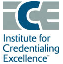 Institute for Credentialing Excellence Badge